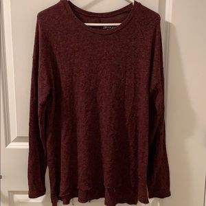 American Eagle Soft & Sexy distressed sweater